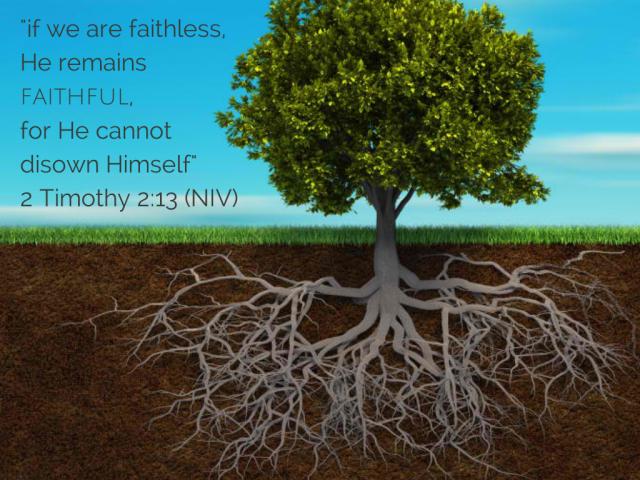 2 Timothy 2:13 (NIV)